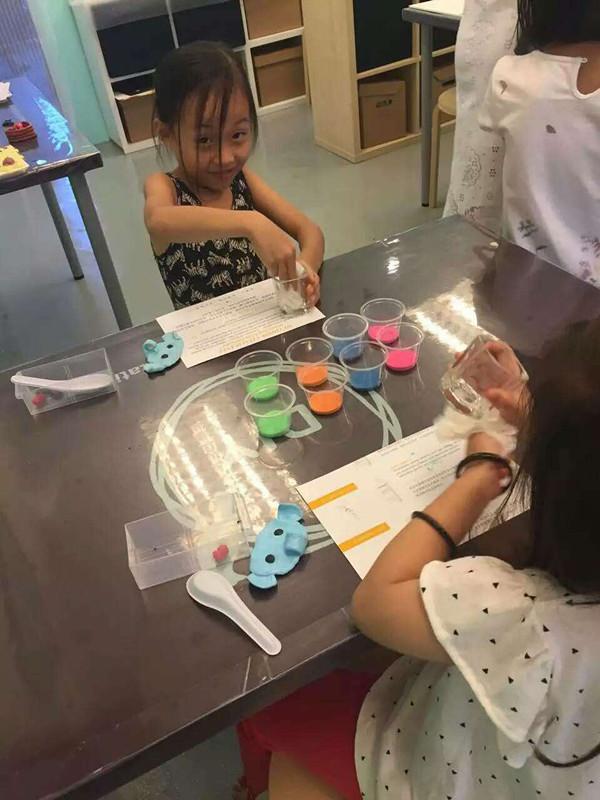 马来西亚创意店蜡烛diy儿童手工课