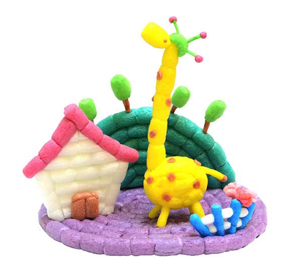 是不是觉得孩子棒棒的,这款魔法玉米手工diy可爱的小动物产品是不是很