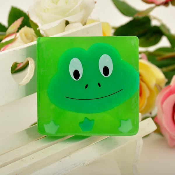 手工diy呆萌可爱的小青蛙卡通手工皂