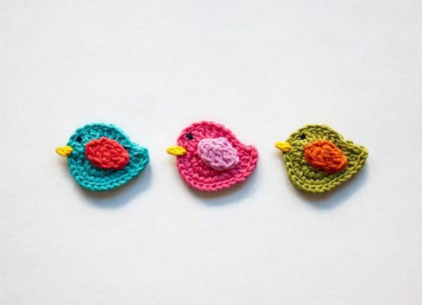 可爱的钩针编织的手工diy创意小动物