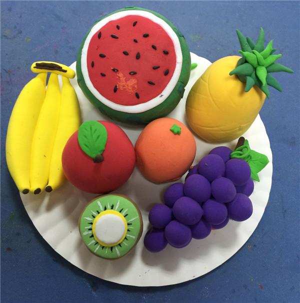 创意手工diy粘土制作仿真水果欣赏